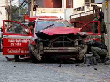 Representational image of the deadly tourist attacks that rocked Thailand.