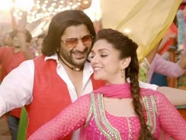 Arshad Warsi and Aditi Rao Hydari in 'The Legend of Michael Mishra'