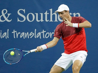 File picture of Tomas Berdych. Getty