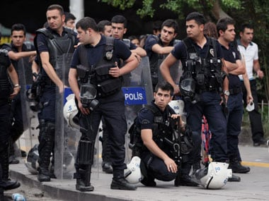 Representational image of Turkey police. AP