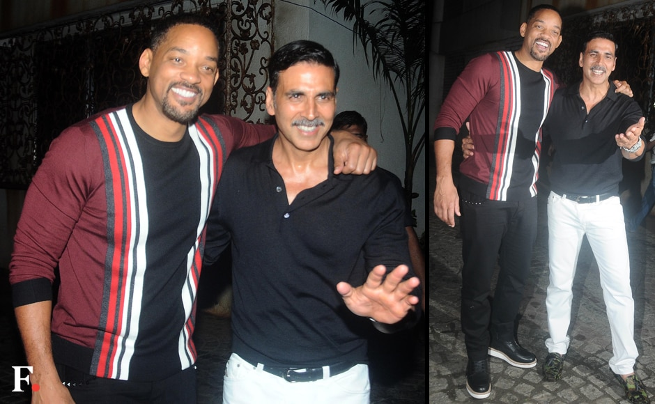 The men of the night: Will Smith and Akshay Kumar. Sachin Gokhale/Firstpost