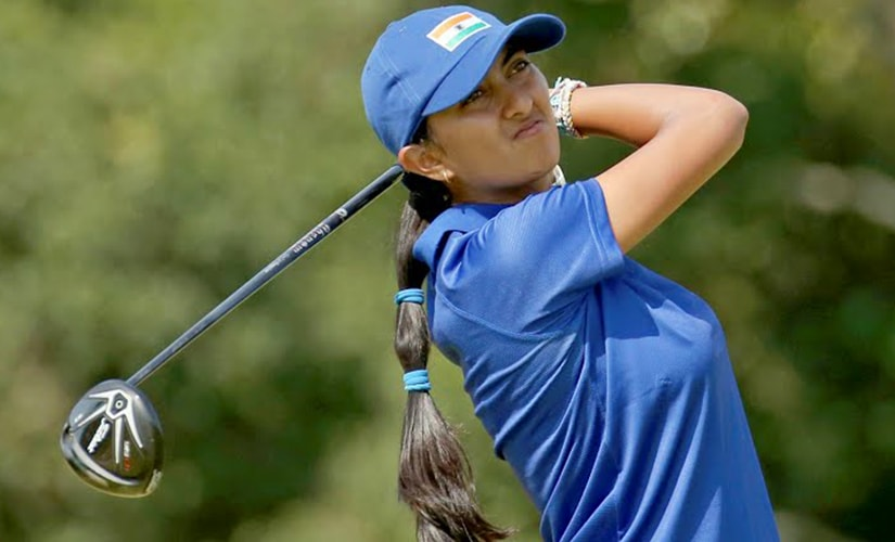 Aditi Ashok finished tied at 41st overall in the women's golf event at the Rio Olympics.