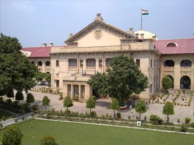 File image of Allahabad High Court. Image: allahabad.nic.in
