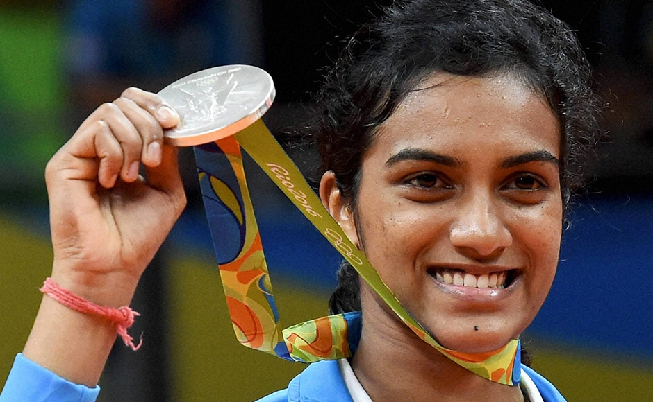 PV Sindhu's silver in the women's singles competition lifted India's spirits, as the nation erupted in joy at the 21-year-old's historic feat. World No 10 Sindhu fought hard but ultimately ended up losing to World No 1 Carolina Marin of Spain. PTI