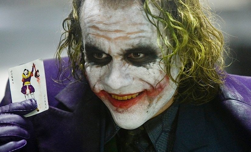 Heath Ledger as the Joker. Image courtesy: Wikimedia commons