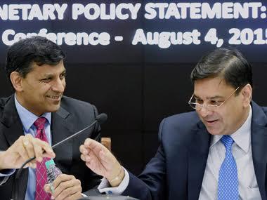 Raghuram Rajan and Urjit Patel. PTI