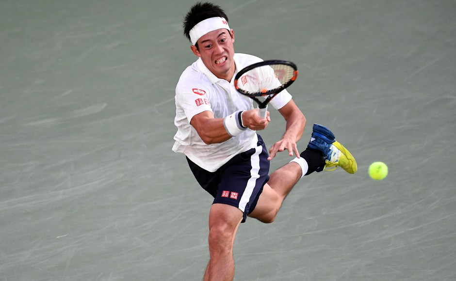 Asia will have one representative in the last-eight of the year's final Grand Slam, with Japan's Kei Nishikori, runner-up at Flushing Meadows two years ago, beating the towering Ivo Karlovic of Croatia 6-3, 6-4, 7-6 (7-4). Image courtesy: AFP
