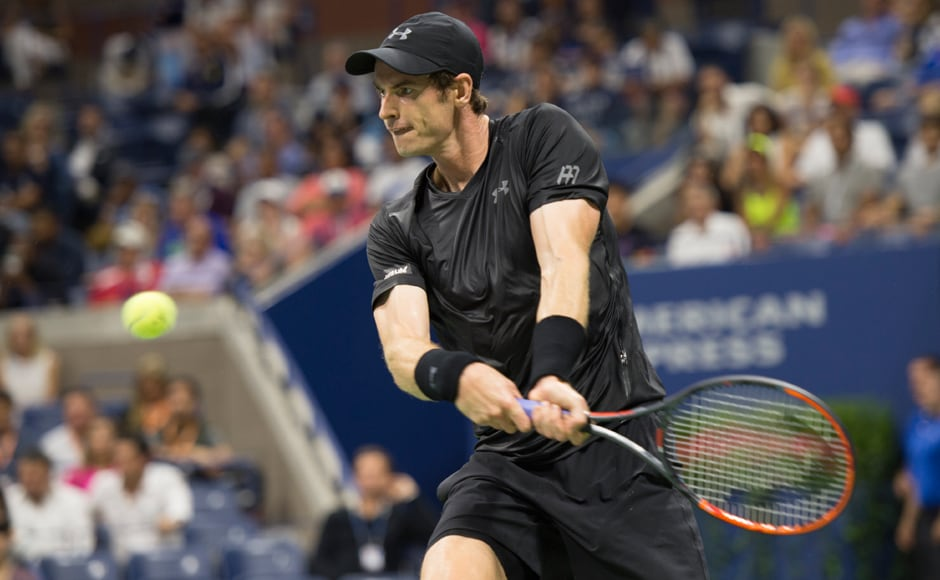 Briton Murray was in irresistible form on Monday night, losing just three games in a 2-hour match, which must count as among the most one-sided wins of his career. Image courtesy: AFP