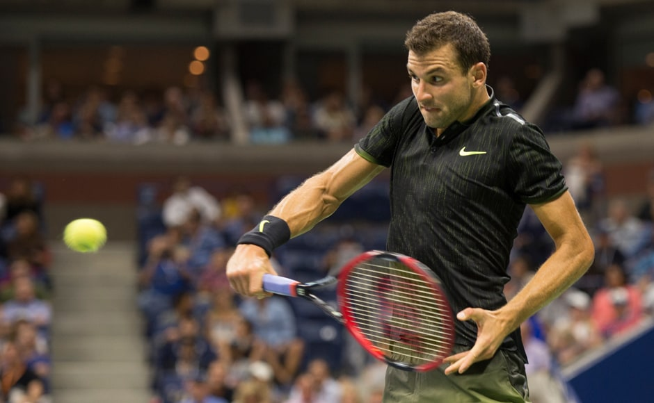 Grigor Dimitrov, the highest ranked Bulgarian tennis player, was in good form at Flushing Meadows until he came upon Andy Murray in the fourth round, going down 6-1, 6-2, 6-2. Image courtesy: AFP