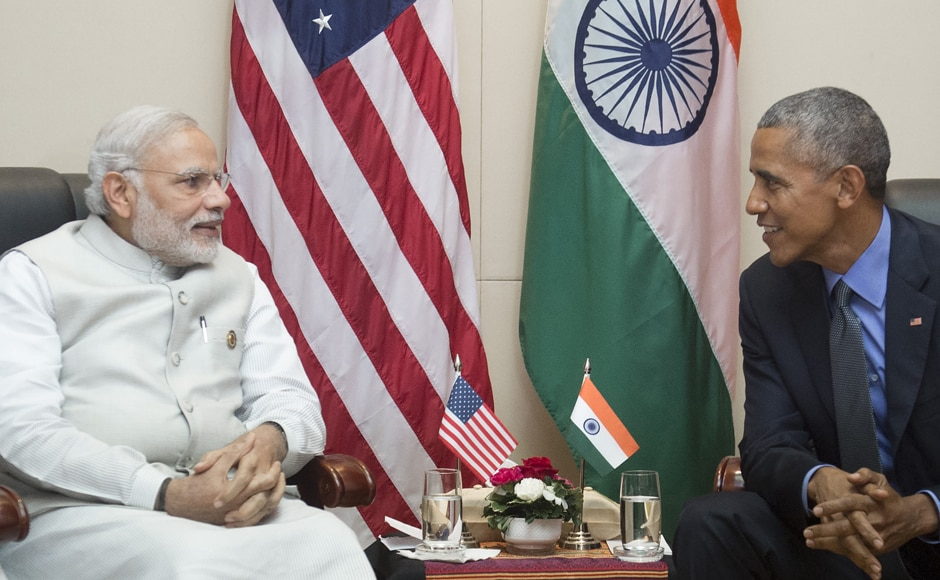 Both leaders reviewed the immediate priorities in the strategic partnership. They discussed climate change issues and energy cooperation. The two leaders also reviewed progress on Indo-US collaboration in nuclear energy, solar energy and innovation. AFP