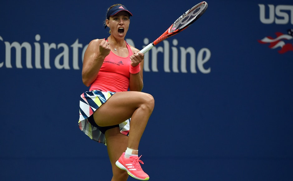 When Pliskova's final forehand sailed out, Kerber was launched on a joyous celebration, climbing into box where coach Torben Beltz was sitting then returning to the court where the tears flowed. AFP