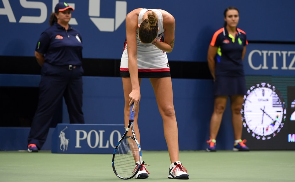 Despite her loss, Pliskova, the the first player to take a set off Kerber at Flushing Meadows, said she had no regrets. AFP