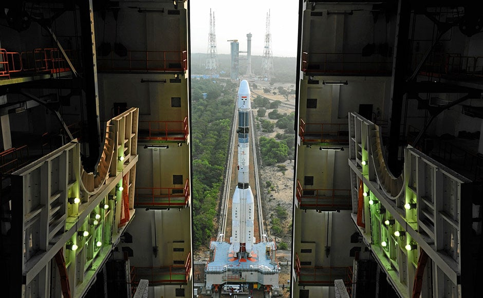 The lift-off tookplace from the second launch pad at the spaceport of Sriharikota, about 110-km from Chennai (Photo: Isro)