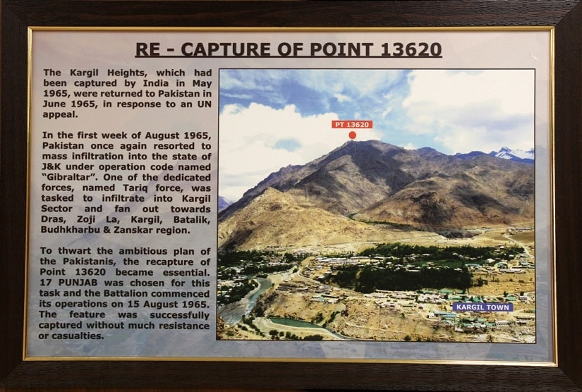 Re - Capture of Point 13620. Photo courtesy: Sanjeev Nayyar