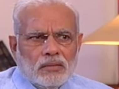 Prime Minister Narendra Modi. Image courtesy CNN-News18