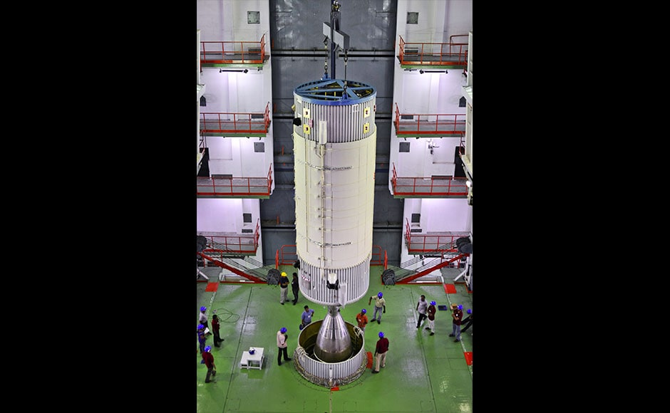 The need to develop indigenous cryogenic engines arose because these engines are necessary to put satellites in geostationary orbit and all Russia-supplied engines were already used. Isro, therefore, had to develop a material which could withstand high temperature and pressure. (Photo: Isro)