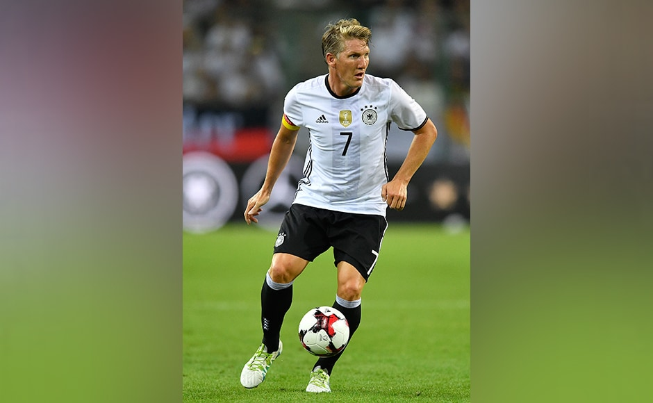 Bastian Schweinsteiger played 121 appearances for Germany. His international career begun in 2004. AP