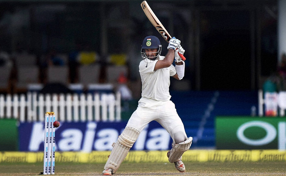 Cheteshwar Pujara scored fifties in both innings. He was India's highest run-scorer in second innings with 78 runs. PTI