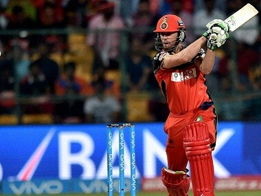 File photo of Royal Challengers Bangalore's AB de Villiers. PTI
