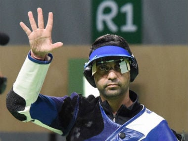 Abhinav Bindra missed out on a medal in his final Olympic appearance by a whisker. PTI