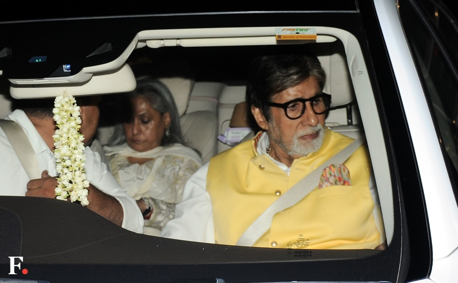 Amitabh Bachchan and Jaya Bachchan make an appearance. Sachin Gokhale/Firstpost