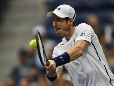 File photo of Andy Murray of Great Britain. AFP
