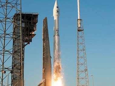 Liftoff of OSIRIS-REx from Pad 41.