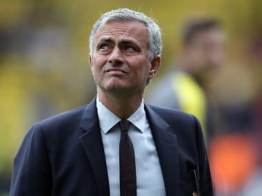 Manchester United manager Jose Mourinho. AP