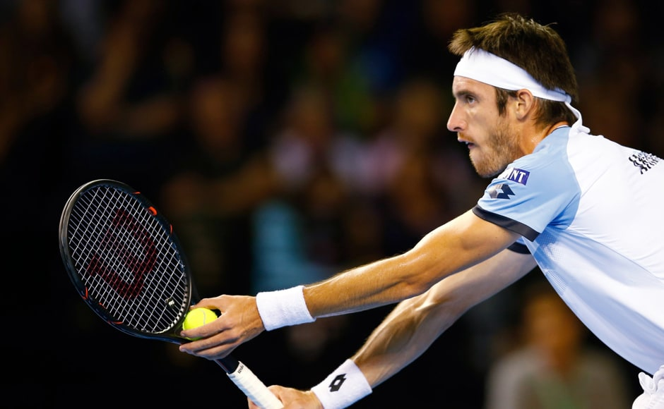 Argentina advanced into the Davis Cup finals as Leonardo Mayer's win over Dan Evans handed them a 3-2 win victory over Great Britain. AP