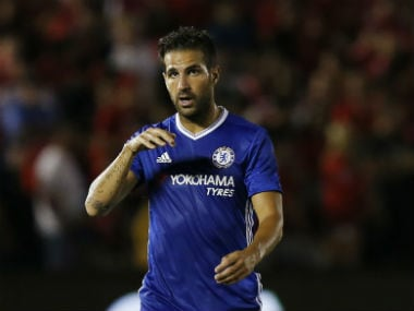 File photo of Chelsea midfielder Cesc Fabregas. Reuters
