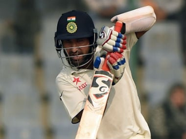 File photo of Cheteshwar Pujara. AFP
