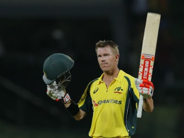 Skipper David Warner scored a fluent 106 off 126 balls. AP