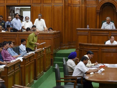 Representational image of a session underway in the Delhi Assembly. PTI
