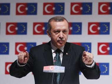 A file photo of Erdogan. Reuters