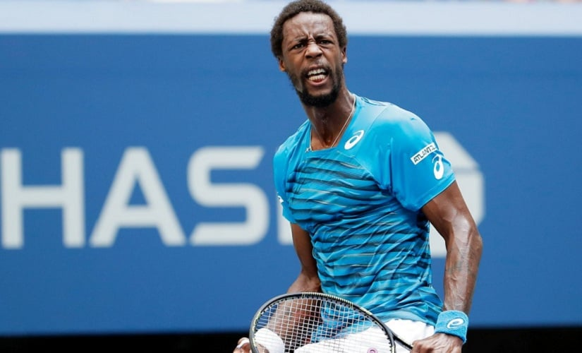Gael Monfils of France: Can play tennis, can juggle too! Getty Images