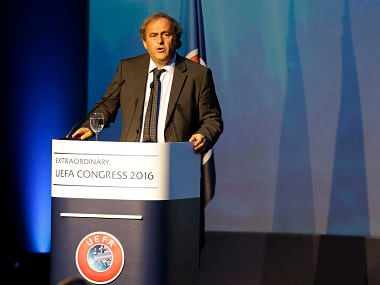 Former UEFA chief Michel Platini appeals FIFA ban in European Court of Human Rights