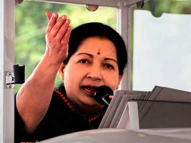 File photo of Tamil Nadu CM Jayalalithaa. PTI