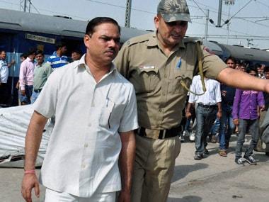 File image of former AAP MLA Jitender Singh Tomar. PTI