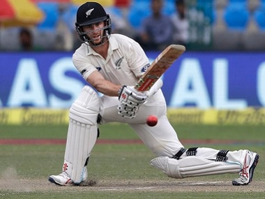 Kane Williamson in the first Test. AP