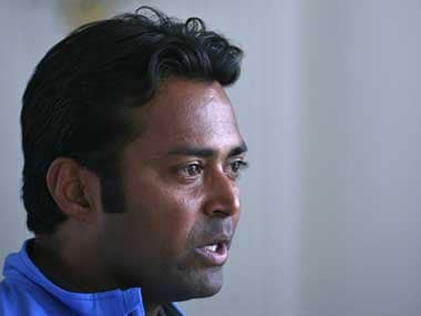 File picture of Leander Paes. Reuters