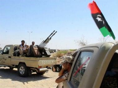 Unrest in Libya. Reuters