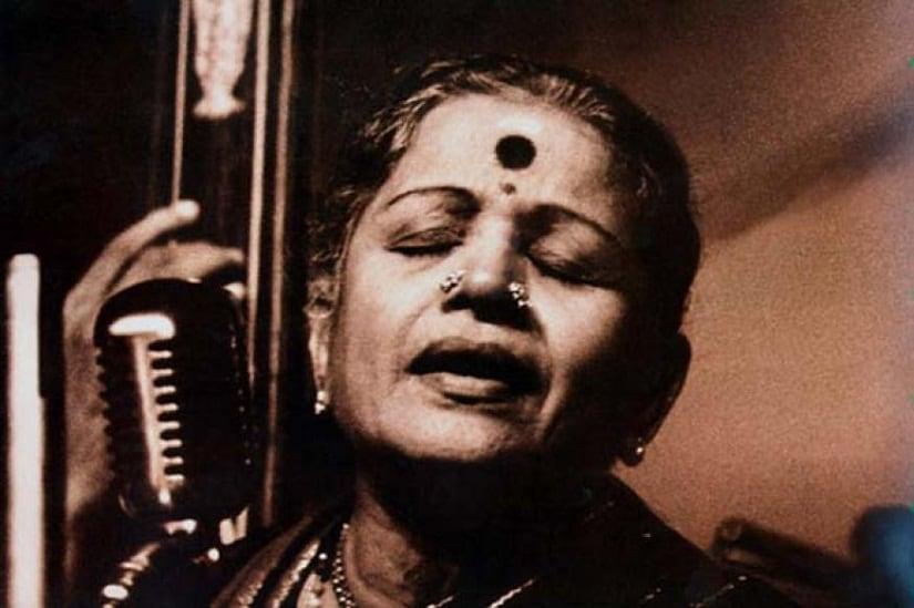 MS Subbulakshmi. Image courtesy News18