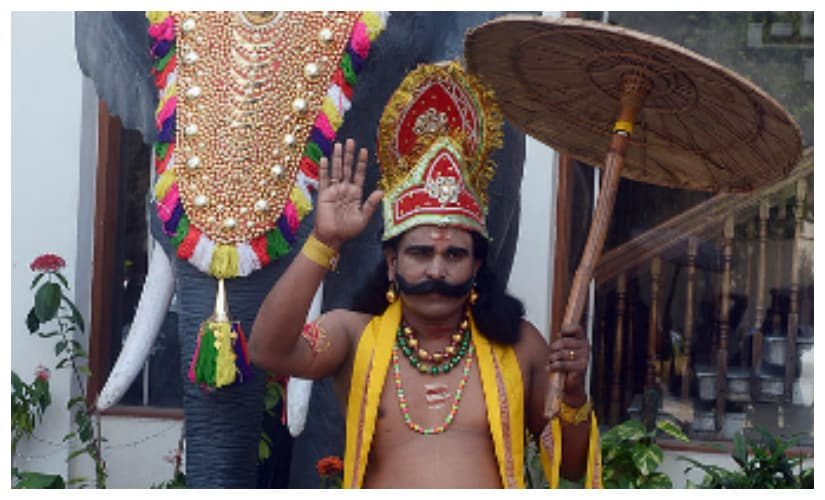 Mahabali, the eternal icon of Kerala. Getty Images