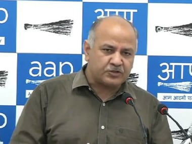 Deputy Delhi Chief Minister Manish Sisodia. Image courtesy YouTube: Aam Aadmi