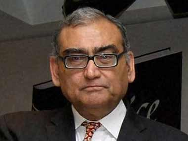 File photo of Markandey Katju. PTI