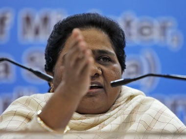 "Mayawati calls sacking of the UP ministers ""mere drama"". AFP"