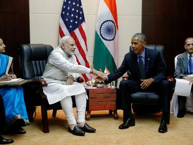 U.S. President Barack Obama holds a bilateral meeting with India's Prime Minister Narendra Modi alongside the ASEAN Summits in Vientiane, Laos. Reuters