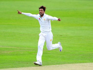 Mohammad Amir took 12 wickets in his first Test series since the spot-fixing saga. AP