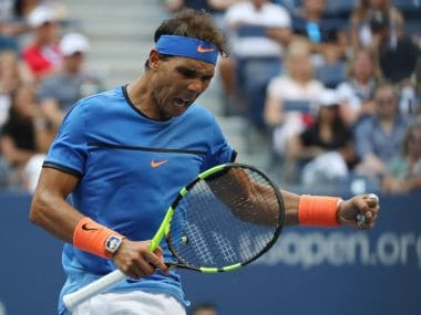 Spain's Rafael Nadal in action during the US Open 2016. Reuters