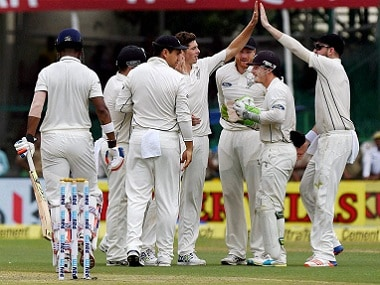 India vs New Zealand Highlights, Kanpur Test, Day 2: Stumps taken early